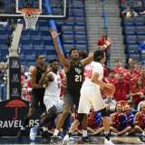NCAA Men's Basketball AAC Tournament SF's - #1 SMU 70 vs. #4 UCF 59 (56)