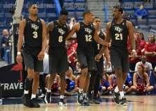 NCAA Men's Basketball AAC Tournament SF's - #1 SMU 70 vs. #4 UCF 59 (57)