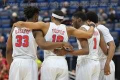 NCAA Men's Basketball AAC Tournament SF's - #1 SMU 70 vs. #4 UCF 59 (59)