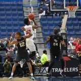 NCAA Men's Basketball AAC Tournament SF's - #1 SMU 70 vs. #4 UCF 59 (60)