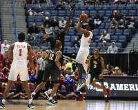 NCAA Men's Basketball AAC Tournament SF's - #1 SMU 70 vs. #4 UCF 59 (64)