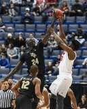 NCAA Men's Basketball AAC Tournament SF's - #1 SMU 70 vs. #4 UCF 59 (65)