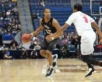 NCAA Men's Basketball AAC Tournament SF's - #1 SMU 70 vs. #4 UCF 59 (73)