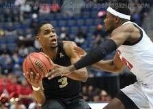 NCAA Men's Basketball AAC Tournament SF's - #1 SMU 70 vs. #4 UCF 59 (74)