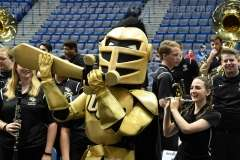 NCAA Men's Basketball AAC Tournament SF's - #1 SMU 70 vs. #4 UCF 59 (8)