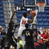 NCAA Men's Basketball AAC Tournament SF's - #1 SMU 70 vs. #4 UCF 59 (81)