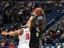 NCAA Men's Basketball AAC Tournament SF's - #1 SMU 70 vs. #4 UCF 59 (85)