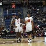 NCAA Men's Basketball AAC Tournament SF's - #1 SMU 70 vs. #4 UCF 59 (92)