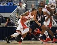 NCAA Men's Basketball AAC Tournament SF's - #2 Cincinnati 81 vs. #6 UConn 71 (49)