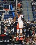 NCAA Men's Basketball AAC Tournament SF's - #2 Cincinnati 81 vs. #6 UConn 71 (50)