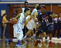 NCAA Men's Basketball - CCSU 64 vs. Robert Morris 74 - Photo (14)