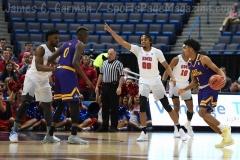 NCAA Men's Basketball - AAC Tournament QF's - #1 SMU 81 vs. #9 ECU 77 (14)
