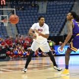 NCAA Men's Basketball - AAC Tournament QF's - #1 SMU 81 vs. #9 ECU 77 (20)