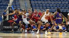 NCAA Men's Basketball - AAC Tournament QF's - #1 SMU 81 vs. #9 ECU 77 (24)