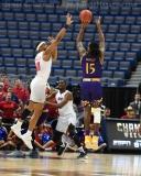 NCAA Men's Basketball - AAC Tournament QF's - #1 SMU 81 vs. #9 ECU 77 (25)