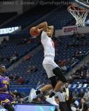 NCAA Men's Basketball - AAC Tournament QF's - #1 SMU 81 vs. #9 ECU 77 (27)