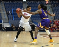 NCAA Men's Basketball - AAC Tournament QF's - #1 SMU 81 vs. #9 ECU 77 (30)