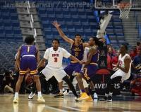 NCAA Men's Basketball - AAC Tournament QF's - #1 SMU 81 vs. #9 ECU 77 (34)