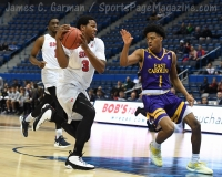 NCAA Men's Basketball - AAC Tournament QF's - #1 SMU 81 vs. #9 ECU 77 (40)