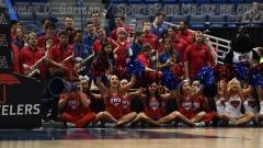 NCAA Men's Basketball - AAC Tournament QF's - #1 SMU 81 vs. #9 ECU 77 (43)