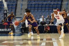NCAA Men's Basketball - AAC Tournament QF's - #1 SMU 81 vs. #9 ECU 77 (49)