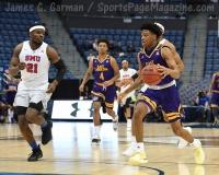NCAA Men's Basketball - AAC Tournament QF's - #1 SMU 81 vs. #9 ECU 77 (50)