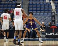NCAA Men's Basketball - AAC Tournament QF's - #1 SMU 81 vs. #9 ECU 77 (51)