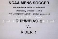 Gallery NCAA Mens Soccer: Quinnipiac 2 vs. Rider 1