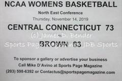 Gallery NCAA WBSK:  Central Connecticut 73 vs. Brown 83