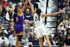 NCAA Women's Basketball AAC Tournament Quarterfinals - #1 UConn 92 vs. 8 ECU 65 (100)