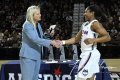 NCAA Women's Basketball AAC Tournament Quarterfinals - #1 UConn 92 vs. 8 ECU 65 (18)