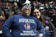 NCAA Women's Basketball AAC Tournament Quarterfinals - #1 UConn 92 vs. 8 ECU 65 (2)