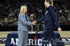 NCAA Women's Basketball AAC Tournament Quarterfinals - #1 UConn 92 vs. 8 ECU 65 (20)
