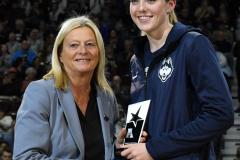 NCAA Women's Basketball AAC Tournament Quarterfinals - #1 UConn 92 vs. 8 ECU 65 (21)