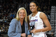 NCAA Women's Basketball AAC Tournament Quarterfinals - #1 UConn 92 vs. 8 ECU 65 (23)