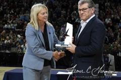 NCAA Women's Basketball AAC Tournament Quarterfinals - #1 UConn 92 vs. 8 ECU 65 (24)