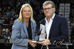 NCAA Women's Basketball AAC Tournament Quarterfinals - #1 UConn 92 vs. 8 ECU 65 (25)