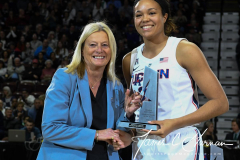 NCAA Women's Basketball AAC Tournament Quarterfinals - #1 UConn 92 vs. 8 ECU 65 (27)