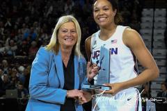 NCAA Women's Basketball AAC Tournament Quarterfinals - #1 UConn 92 vs. 8 ECU 65 (27)