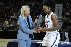 NCAA Women's Basketball AAC Tournament Quarterfinals - #1 UConn 92 vs. 8 ECU 65 (28)