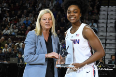 NCAA Women's Basketball AAC Tournament Quarterfinals - #1 UConn 92 vs. 8 ECU 65 (29)