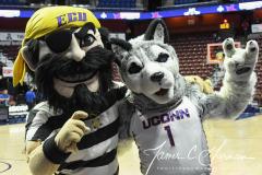 NCAA Women's Basketball AAC Tournament Quarterfinals - #1 UConn 92 vs. 8 ECU 65 (3)