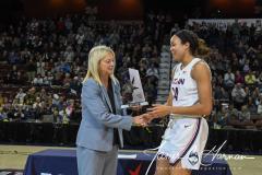 NCAA Women's Basketball AAC Tournament Quarterfinals - #1 UConn 92 vs. 8 ECU 65 (30)