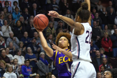 NCAA Women's Basketball AAC Tournament Quarterfinals - #1 UConn 92 vs. 8 ECU 65 (36)