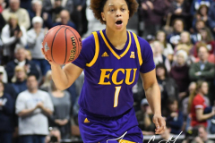 NCAA Women's Basketball AAC Tournament Quarterfinals - #1 UConn 92 vs. 8 ECU 65 (37)