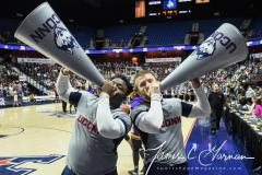 NCAA Women's Basketball AAC Tournament Quarterfinals - #1 UConn 92 vs. 8 ECU 65 (4)