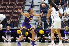 NCAA Women's Basketball AAC Tournament Quarterfinals - #1 UConn 92 vs. 8 ECU 65 (42)