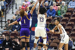 NCAA Women's Basketball AAC Tournament Quarterfinals - #1 UConn 92 vs. 8 ECU 65 (43)