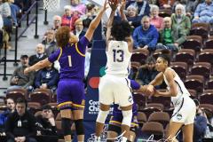 NCAA Women's Basketball AAC Tournament Quarterfinals - #1 UConn 92 vs. 8 ECU 65 (43)