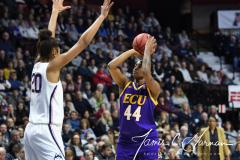 NCAA Women's Basketball AAC Tournament Quarterfinals - #1 UConn 92 vs. 8 ECU 65 (44)
